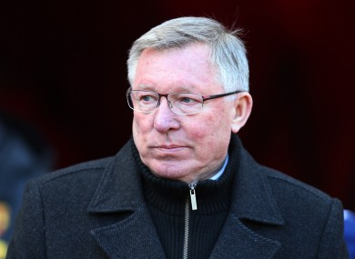 Ferguson was left frustrated thanks to a fantastic Petr Cech save.