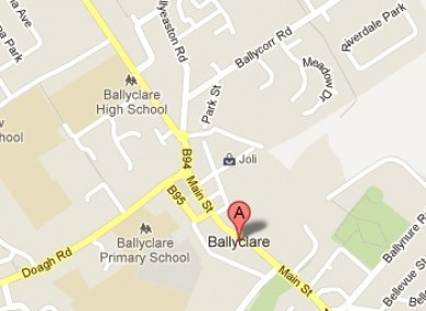 The drugs were found in the Forthraven area of Ballyclare in Co Antrim.