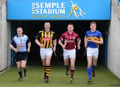 David O'Callaghan, Eoin Larkin, Andy Smith and Brendan Maher will be in action tomorrow.