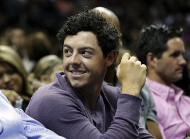 Rory McIlroy is hoping for his third golfing major.