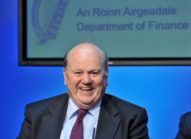 Minister for Finance Michael Noonan (file photo)