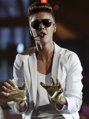 Canadian singer Justin Bieber (file photo)