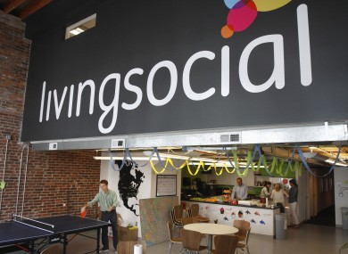 LivingSocial's offices in Washington (File photo)