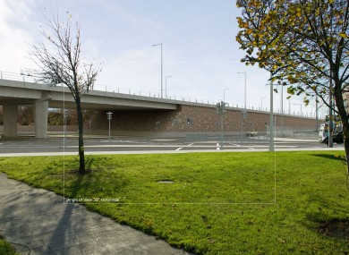 What the new Newlands Cross flyover will look like.