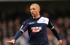 Millwall's Dubliner Alan Dunne gets chance to shine at Wembley