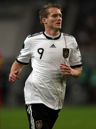 Schurrle in action for Germany.