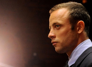 Oscar Pistorius (file photo).