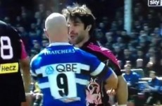 Peter Stringer 'disgusted' over spitting incident