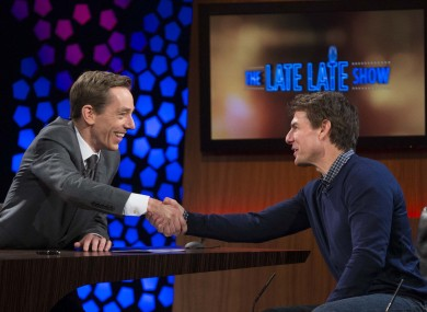 Ryan Tubridy meets Tom Cruise