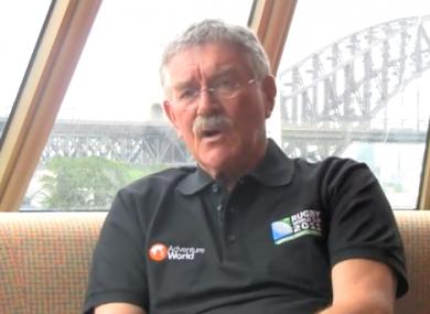 Former Australia coach Bob Dwyer.