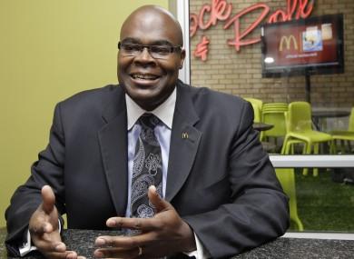 McDonald's President Don Thompson