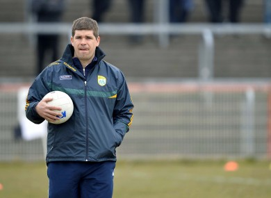 Kerry manager Eamonn Fitzmaurice believes the team's rivals could potentially benefit if the side continue to hold open training sessions.