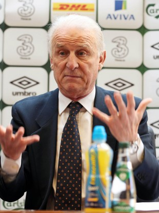 Trapattoni in Carrick-on-Shannon today.