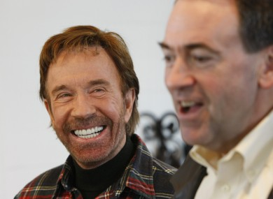 When Chuck Norris smiles, the whole world smiles too.