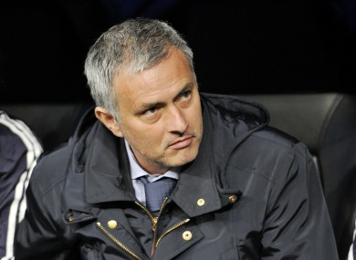 Jose Mourinho, Real Madrid manager.