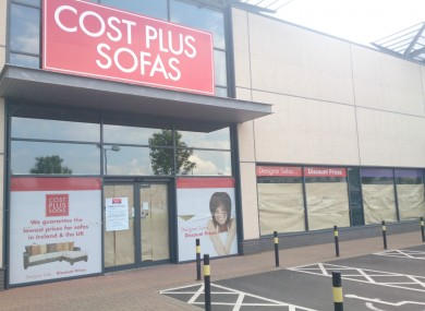 many of cost plus sofas 23 stores to close in ireland thejournal ie rh thejournal ie cost plus sofa table cost plus sofa table