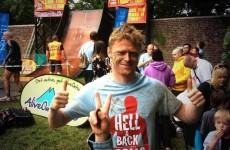 Snapshot: Damien Duff made it through Hell And Back this weekend