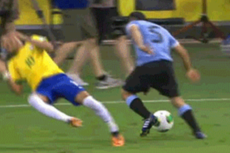 Heres A Gif Of Neymars Spectacular Dive From Last Night The42