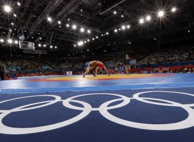 Wrestling at the Olympics (file photo).