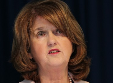 Minister for Social Protection, Joan Burton.