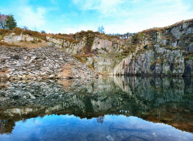 File image of Ahenny quarry where the man was last see yesterday evening.