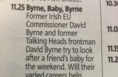 There's something funny going on in the Metro's TV listings today