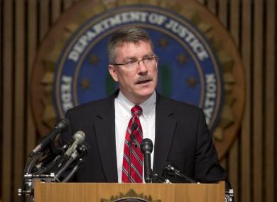 Ron Hosko, assistant director of the FBI's Criminal Investigative Division, speaking today