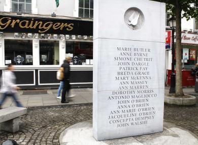 Dublin Monaghan Bombings Memorial