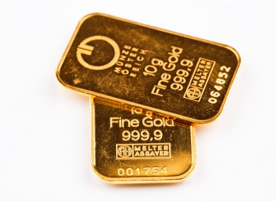 Twenty grams of gold - what you could get for losing 44lbs.