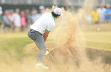 Zach attack as Johnson leads The Open but McIlroy slumps to +8