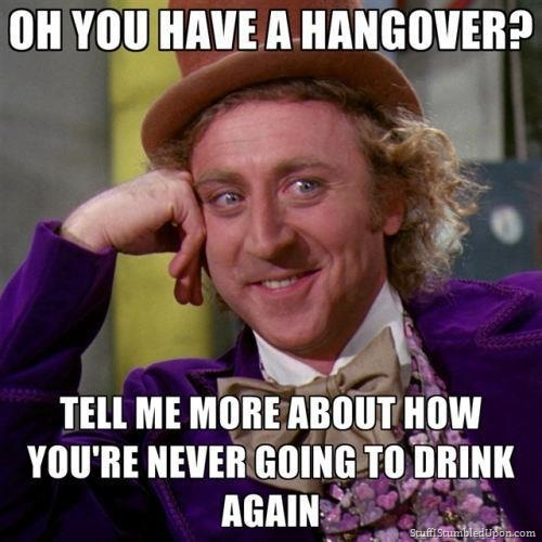 Hangover Movie Meme Funny : Quiz how to tell if you were out last night · the daily edge