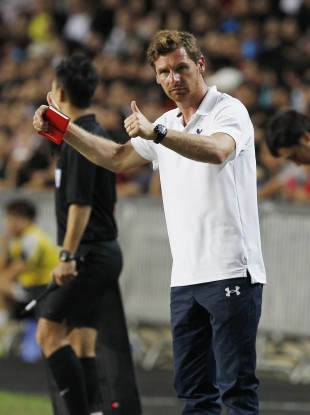 Villas-Boas refused to answer questions about his star winger.