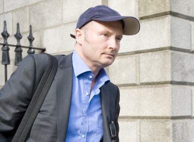 Jim Corr leaving the Commercial Court in Dublin on 15 May.