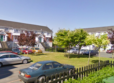 File image of Sanfield Mews where the man was stabbed.