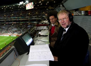 Famous GAA commentator Mícheál Ó Muircheartaigh.