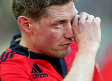 O'Gara said an emotional farewell to Munster in May.
