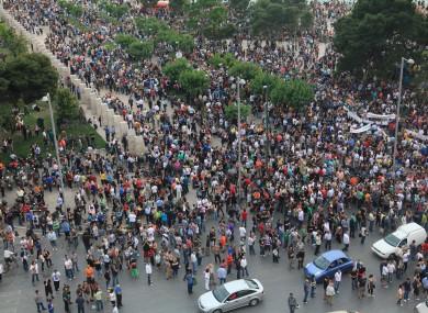 Greek Protests May 25th