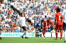 Liverpool new boy Aspas scores on his Reds debut