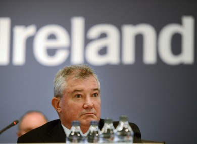 Bank of Ireland CEO Richie Boucher