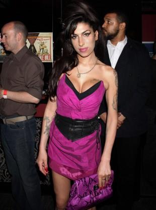 Amy Winehouse in 2010.