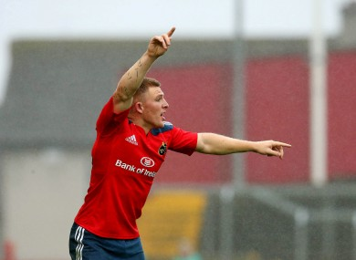 A scoring debut for new Munster signing Andrew Conway.