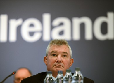 Bank of Ireland chief executive Richie Boucher