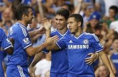 Ivanovic heads winner as Chelsea keep in winning habit ahead of United trip