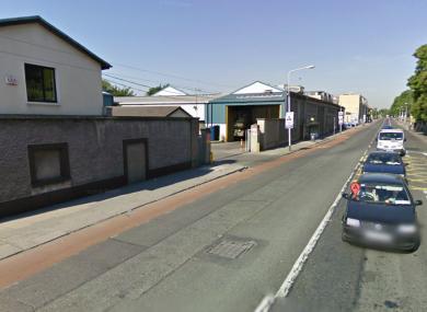 The Dublin Bus garade on Conyngham Road in Dublin