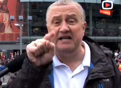 This angry Arsenal fan last week became a YouTube sensation.