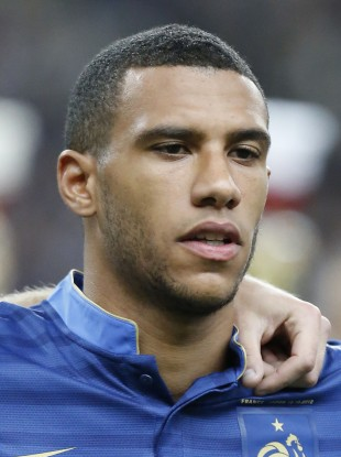Capoue lining out for France.