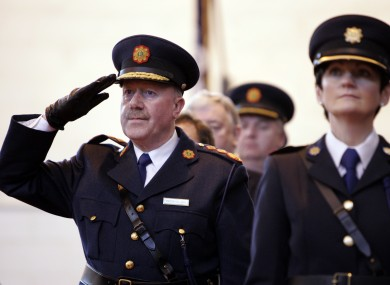 Commissioner Martin Callinan at a graduation ceremony in Templemore this year