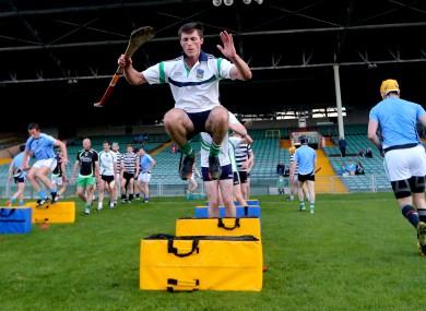 Ready to go: Limerick's Gavin O'Mahonhy