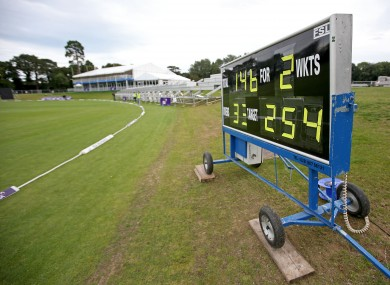 Malahide CC: the new ground will host its first international match when England visit for Tuesday's RSA Challenge.