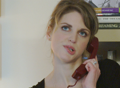 Amy Huberman in a scene from one of the sketches